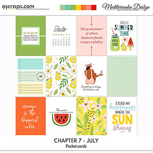 Chapter 7 - July (Pocket cards)
