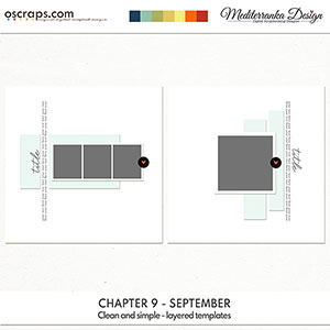 Chapter 9 - September (Clean and simple - layered templates)