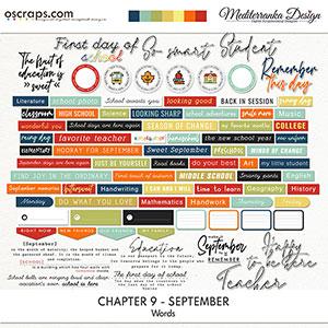 Chapter 9 - September (Words)