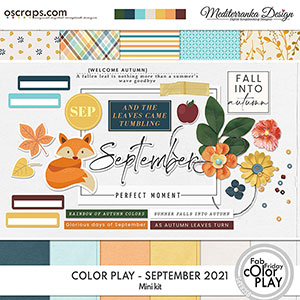 Color play - September 2021 (Mini kit)