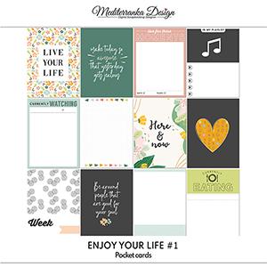 Enjoy your life No 1 (Pocket cards)