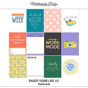 Enjoy your life No 2 (Pocket cards)
