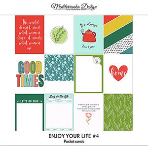 Enjoy your life No 4 (Pocket cards)