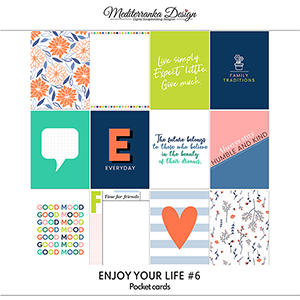 Enjoy your life No 6 (Pocket cards)