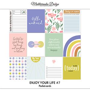 Enjoy your life No 7 (Pocket cards)