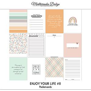 Enjoy your life No 8 (Pocket cards)
