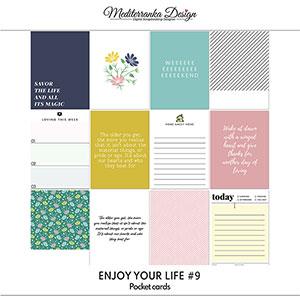 Enjoy your life No 9 (Pocket cards)