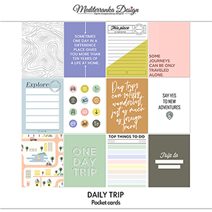 Daily trip (Pocket cards)