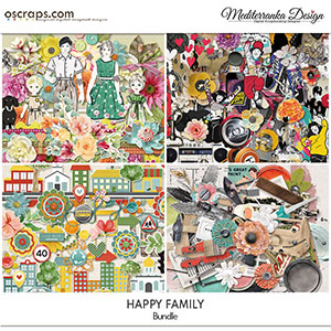 October special offer - Happy family (Bundle)