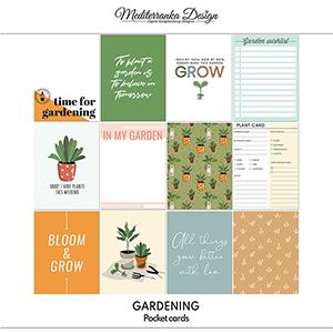 Gardening (Pocket cards)
