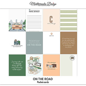On the road (Pocket cards)