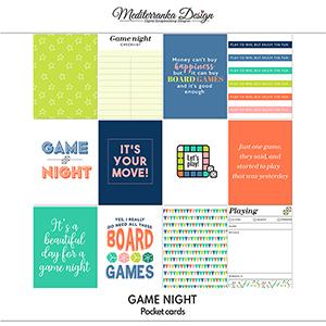 Game night (Pocket cards)