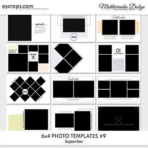 September (Photo templates 6x4)
