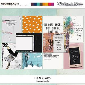 Teen years (Journal cards)