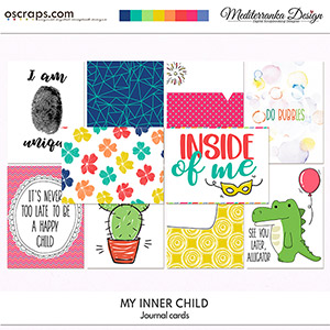 My inner child (Journal cards)