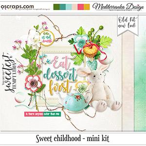 Sweet childhood (Mini kit)