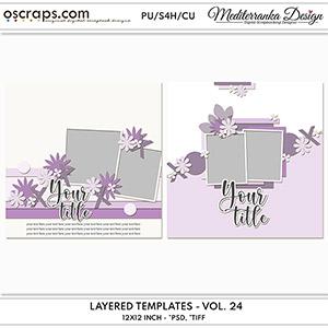 Layered templates - Vol. 24
