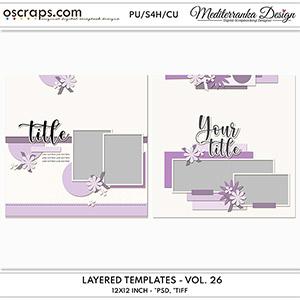 Layered templates - Volume 26