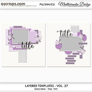 Layered templates - Volume 27