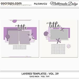 Layered templates - Volume 29