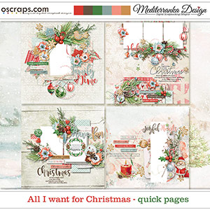 All I want for Christmas (Quick pages)