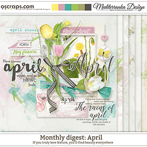 Monthly Digest: April (Mini kit)