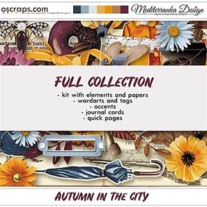 Autumn in the city (Full collection 5 in 1)