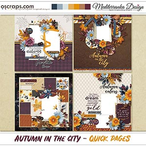 Autumn in the city (Quick pages)