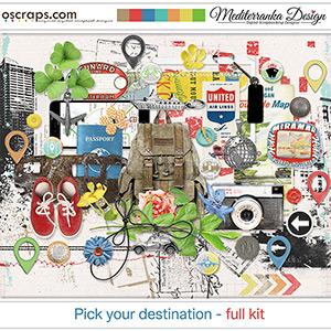 Pick your destination (Full kit)