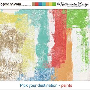 Pick your destination (Paints)