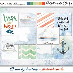 Down by the bay (Journal cards)