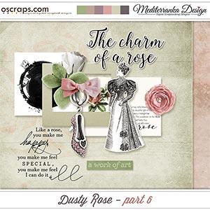 Dusty rose - part 6 (Mini kit)