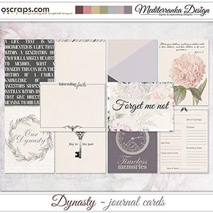 Dynasty (Journal cards)