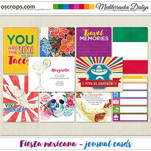 Fiesta mexicana (Journal cards)