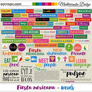 Fiesta mexicana (Words)