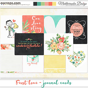 First love (Journal cards)