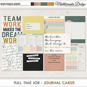 Full time job (Journal cards)