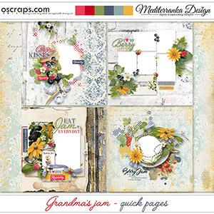 Grandma's Jam (Quick pages)