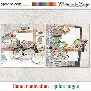 Home renovation (Quick pages)