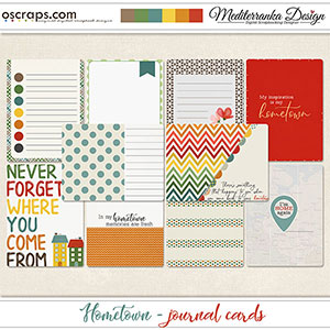 Hometown (Journal cards)