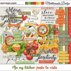 In my kitchen: pasta la vista (Mini kit)
