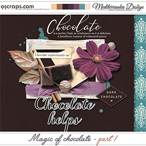 Magic of chocolate - part 1 (Mini kit)