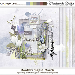 Monthly Digest: March (Mini kit)