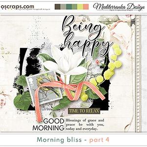 Morning bliss - part 4 (Mini kit)