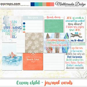Ocean child (Journal cards)