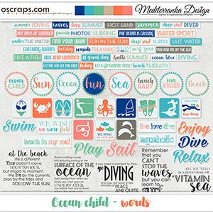 Ocean child (Words)