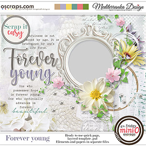 Scrap it easy: Forever young (Mini kit)