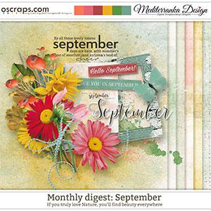 Monthly Digest: September (Mini kit)