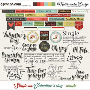 Single on Valentine's day (Words)