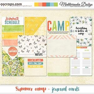 Summer camp (Journal cards)
